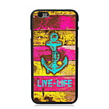 Live-Life and Anchor Design PC Hard Case for iPhone 6/6S