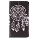 Fashion Design COCO FUN® Black Wind-Bell Pattern PU Leather Wallet Case Cover for LG G3