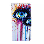 Color Tears  Pattern PU Leather Phone Case For iPhone 5/5S