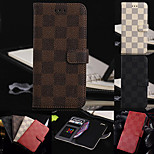 Luxury Quality Stander with Card Bag Flip Case for iPhone 6 Plus(Assorted Color)