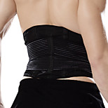 Ollas Unisex Outdoor Exercise Black Nylon Polyeste Smart Waist Protective Gear with Spring Support S9307