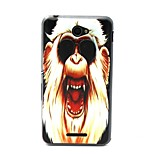 Ferocious Monkey Pattern TPU Material Phone Case And Screen Protector for Sony Xperia E4