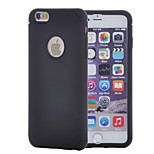 2 in 1 Silicon and Plastic Shock-proof Protector Case with Screen Protector for iPhone 6