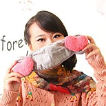 Lovely Fleece Anti-Dust Winter Thermal Adult Respirator Face Masks Health Gauze Mask with Ear Protector (Random Color)
