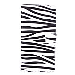 Zebra Pattern PU Leather Full Body Case with Stand and Card Slot for Sony Xperia C4