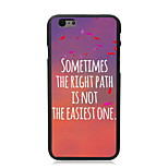 The Right Path Design PC Hard Case for iPhone 6