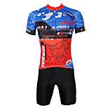 PaladinSport Men's Cycyling Jersey + Shorts  Bike Suits DT380 City Series Sprint Design