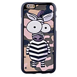 Cute Pony  Pattern Paste Paper Painting TPU Phone Case For iPhone 6