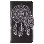 Feather  Pattern PU Leather Phone Case For  Sony Xperia E1