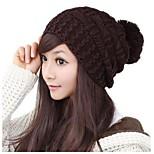 Fashion Women's Winter Warm Knitted Wool Beanie Girl Autumn Hat Crochet Caps