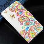 Colorful jellyfish PU Leather Full Body Protection Cover with Stand and Card Slot for Nokia Lumia N520