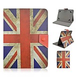 UK National Flag Pattern Magnetic Flip Stand Universal PU Leather Case for 8 Inch Tablet PC