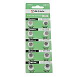 COMSAN AG11/362/LR/SR721SW/162 High Capacity Button  Batteries (10PCS)