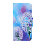 2015 The Newest Painted Dandelion Series Scattered Dandelion PU Soft Case for iPhone 6