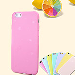 Star Bow Thin Fruit Color TPU Phone Case for iPhone 6(Assorted Colors)