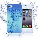 neue Art und Weise 3d Schönheit Blume bunten Totemkarikaturfall für iphone 4s