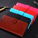 pajiatu pu stile raccoglitore di cuoio della copertura della cassa del telefono con slot per schede per Huawei onore 4c chm-CL00 (colori