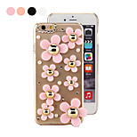 Specical Stereoscopic Sunflower Patern PC Back Cover for iPhone 6(Assorted Color)