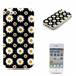 Chrysanthemum Painting Soft TPU Case for iPhone 4/4S