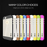 Slicoo White With Multicolor Drawing Mobile Phone Shell Plating For iPhone 5/5S (Assorted Colors)