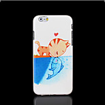 Cat Pattern Cover for iPhone 6 Plus Case