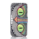 Owl Pattern PU Leather Phone Case for iPhone 6