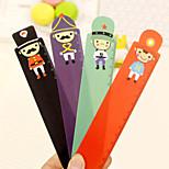 15cm Soldiers Series Plastic Ruler(Random Color)