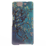 Apricot Blossom Design TPU Soft Cover for Wiko HIGHWAY