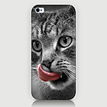 The Tongue lick the cat Pattern Case Back Cover for Phone5/5S Case