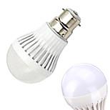 2 pcs Ding Yao B22 15W 1X SMD 2835 50-100LM 2800-3500/6000-6500K Warm White/Cool White Globe Bulbs AC 220-240V