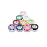 10 Rolls Colorful Nylon Cord Thread DIY for Necklace Bracelet 1m