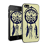 Dermatoglyph Colored Drawing Fashion Style  Case for iPhone5/5s -Maiya-M112832