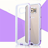 multicolor TPU + PC tampa aurora série de casos de telefone para Samsung Galaxy S6 bordo (cores sortidas)