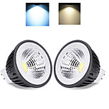 2 pcs Ding Yao 12W 1X COB 50-100LM 2800-3500/6000-6500K Warm White/Cool White MR16 Spot Lights AC 85-265V