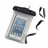 Transparant Waterproof Pouch 15M Underwater Phone Bag with Lanyard for iPhone 4/4S/5/5S/5C and Others