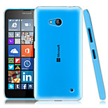 Transparent PC Back Cover Case for Microsoft Lumia 640