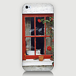 The Window Scenery Pattern Case Back Cover for Phone5/5S Case