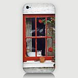 el caso del patrón del paisaje ventana posterior para la phone5 / caja 5s