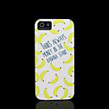 Bananenmuster Abdeckung für iPhone 4 Fall / iphone 4s Fall