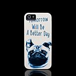 / iphone caso della copertura del modello del cane per il caso di iphone 4 4 s