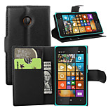 Litchi Around Open Bracket Leather Phone Wallet Card Suitable for Microsoft Lumia 532(Assorted Color)