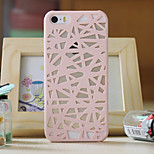 Bird's Nest Hollow Cooling PC Material Phone Case For iPhone 5/5S(Assorted Colors)