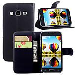 litchi noin alkusulkumerkki nahka puhelin lompakko sopii Samsung Galaxy ydin prime (valikoituja väri)