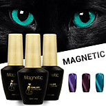 Azure 3 Pcs/Lot 3D UV Cat Eyes Magnetic Nail Gel Polish Soak Off Nails Art Gel  (#96+#97+#98)