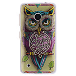 Personality Owls Patterns TPU Soft Case for Nokia Lumia N530
