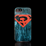 Superman Pattern Cover for iPhone 4 Case / iPhone 4 S Case