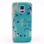 szczęśliwa pian szt wzór twarde etui do Samsung Galaxy S5 mini