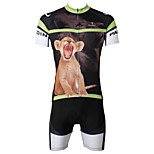 PaladinSport Men's  Cycyling Jersey + Shorts  Bike Suits DT552 Small lion