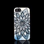 couvrent modèle mandala de fleur aztèque pour l'iphone 4 cas pour l'iphone 4s