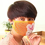 Lovely Fleece Anti-Dust Winter Thermal Adult Respirator Face Masks Health Gauze Mask (Random Color)